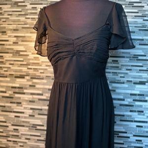 Antonio Melani black empire styled dress